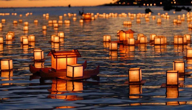 Wie man das Obon Festival in Japan Feiern
