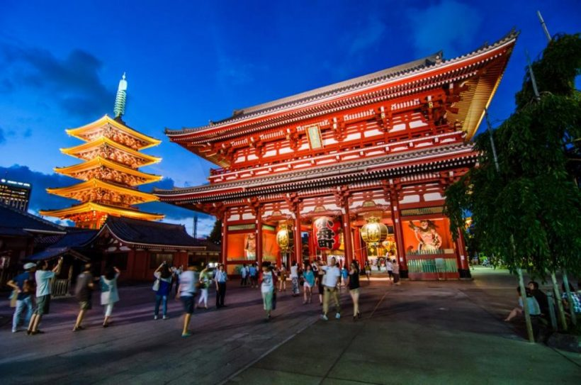 Sensojin temppeli Guide - kohokohtia Tokion vanhin temppeli