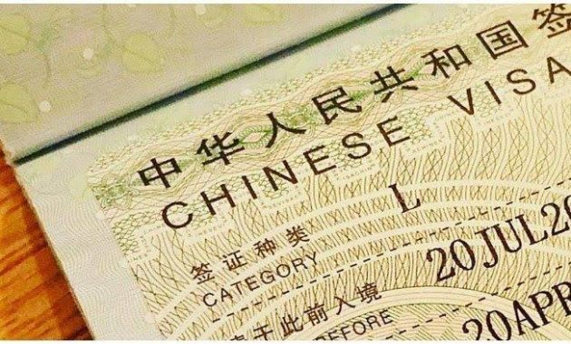 Los documentos requeridos para viajar a China