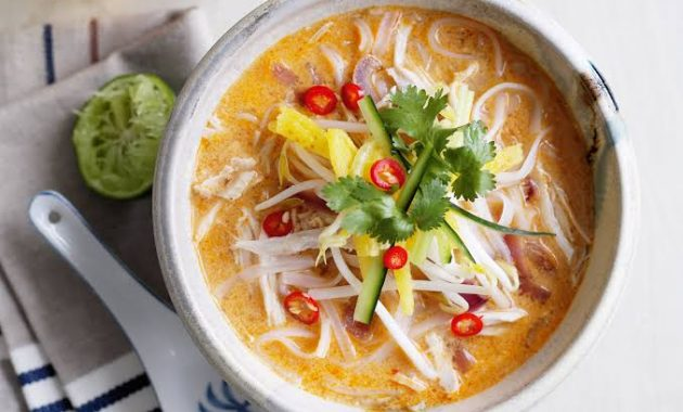 Kā ēst Laksa, Malaizijas Iconic Noodle Dish