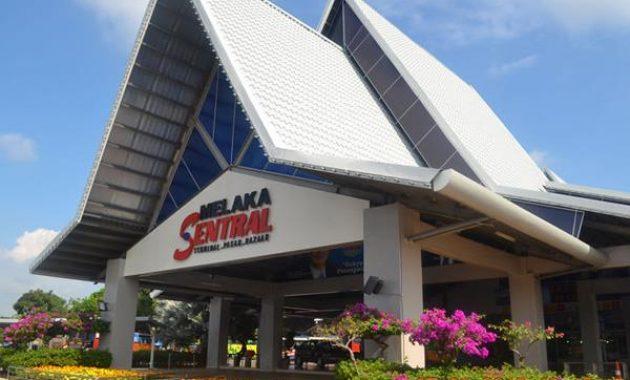 Melaka Sentral autobusų stotis – viengubu majoras Transportas koncentratorius ir aplink Malakos Malaizijoje