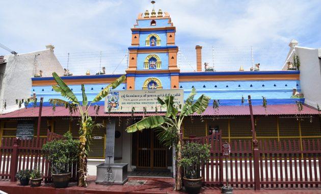 Sri Poyyatha Vinayagar Hinduistický chrám Moorthi
