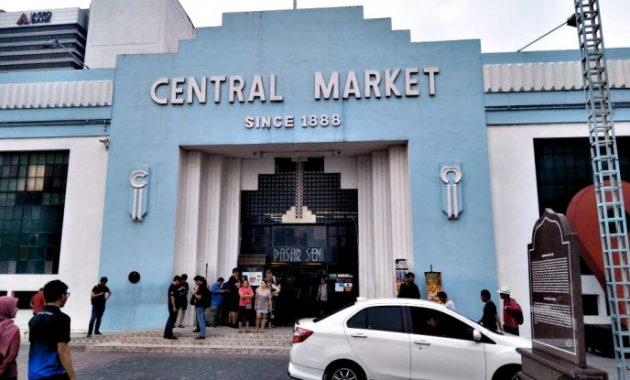 Pirkinių Pasar Seni – Kvala Lumpūras, Malaizija centrinės rinkos