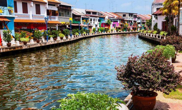 En kort historie av Malacca Malaysia – kinesisk, nederlandsk, britisk, og Malay påvirkninger