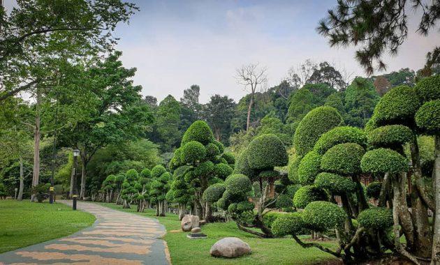 Ein Führer zu dem Perdana Botanical Garden in Kuala Lumpur
