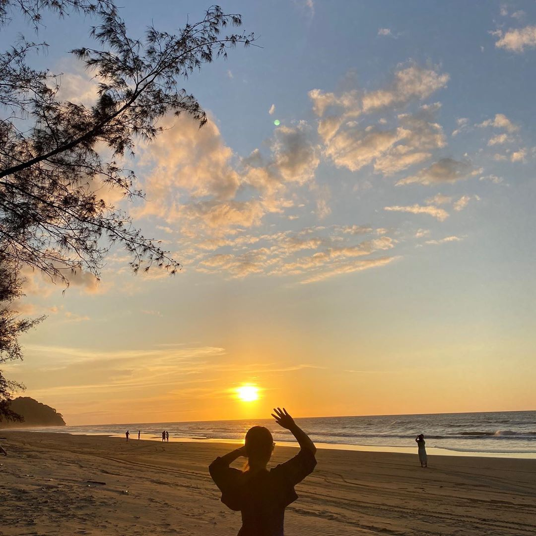 Tanjung Aru – Am beliebtesten Strand in Kota Kinabalu