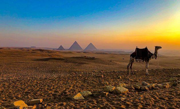 Guía para completar Visitar las grandes pirámides de Giza, Egipto