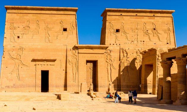 Raziskovanje kompleksa tempelj Philae: Vodnik za obiskovalce